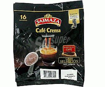 Saimaza Café Monodosis Crema Clásico 16u
