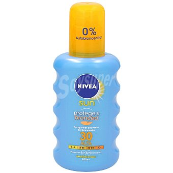 Nivea Spray solar bronceador con factor de protección 30 Spray 200 ml