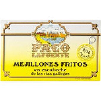 PACO Mejillones fritos en escabeche de las rías gallegas 8-10 piezas  Lata 75 g neto escurrido