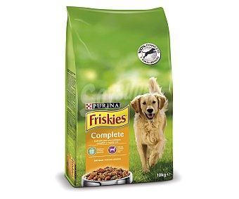 Purina Friskies Pienso para perros adultos vitafit complete pollo y verduras Saco 10 kg