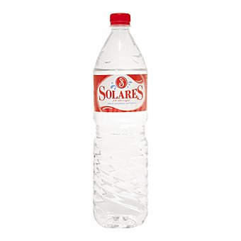 Solares Agua mineral Botella 1,5 litros