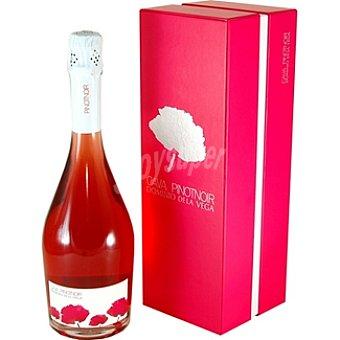 DOMINIO DE LA VEGA Cava rosado pinot noir estuche lujo Botella 75 cl