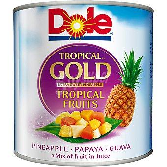 Dole Gold mix de frutas tropicales con piña, papaya y guayaba lata 263... Lata 263 g neto escurrido