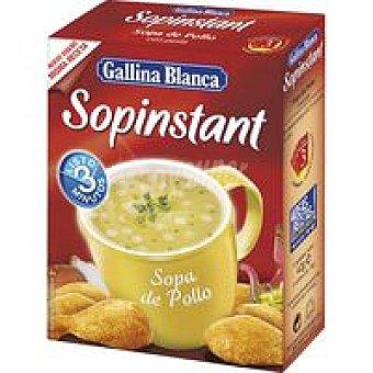 Gallina Blanca Sopinstant de pollo-pasta Sobre 70 g