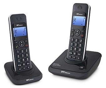 SPC 7244 NEGRO Teléfono inalámbrico dúo