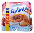 Natilla con galleta Pack 8 x 125 g - 1 kg Hacendado