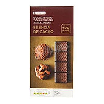 Eroski Chocolate negro 74% cacao Tableta 100 g