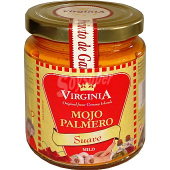 Virginia Mojo Palmero suave Envase 250 ml