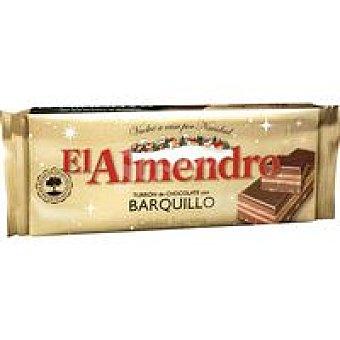 El Almendro Turrón de chocolate con barquillo Tableta 285 g