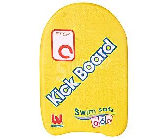 BESTWAY Tabla para aprender a nadar de 43x30 centímetros y recomenda para niños de + 4 años 1 unidad