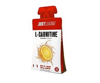 Just Loading Gel energético sabor naranja con l-carnitina con edulcorante 3 uds. x 20 g
