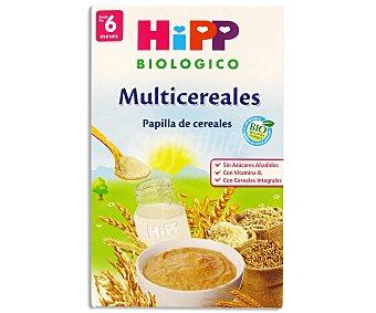 HiPP Biológico Papilla multicereales biologica 400 Gramos