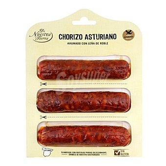 De nuestra tierra Chorizo Asturiano - Sin Gluten 290 g