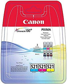 Pack Cartucho de Tinta CLI521 1 ud