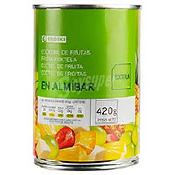 Eroski Frutas variadas en Almibar 240gr