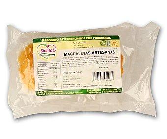 SINBLAT Magdalenas artesanas sin gluten 2 unidades de 90 gramos