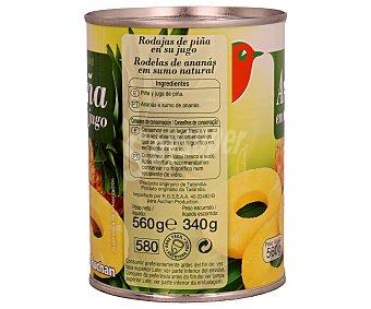Auchan Piña en su jugo 340 gramos