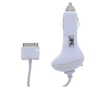 TNB CHIPCAR1 Cargador Coche 1a para ipod/iphone color blanco