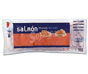 Auchan Salmón ahumado noruego en lonchas 700 gramos