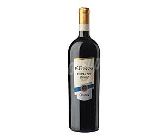 Pata Negra Vino tinto crianza con denominación de origen Ribera del Duero Botella de 75 centilitros
