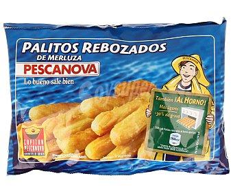 PESCANOVA Palitos rebozados de merluza envase 300 g