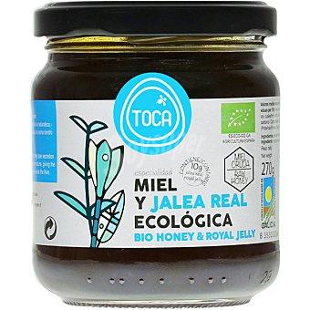 TOCA Miel y jalea real ecológica  tarro 270 g