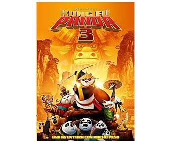 ANIMACIÓN Kung Fu Panda 3, 2016.Película en Dvd Género: comedia, . Edad: + 6 años