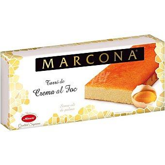 Marcona Turrón de yema tostada al fuego sin gluten calidad suprema Tableta 250 g