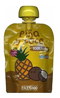 Hacendado Fruta bolsillo piña y coco Bolsa 90 g