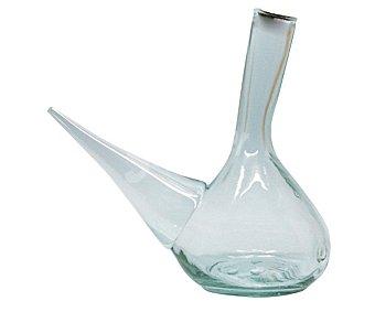 FUENTES GUERRA Porrón rústico de vidrio con capacidad 1 itro