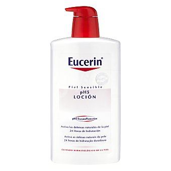 Eucerin Loción pieles sensibles 1000 Mililitros