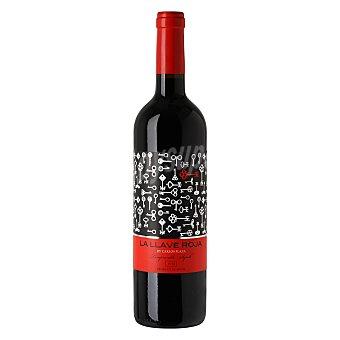 La Llave Roja Vino de Extremadura tinto tempranillo Syrah 75 cl
