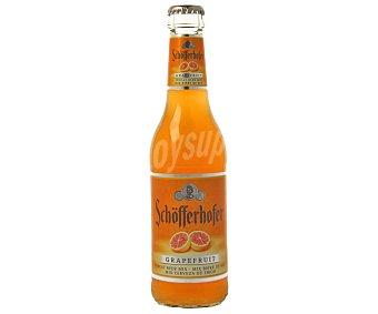 SCHOFFERHOFER GRAPEFRUIT Cerveza rubia de trigo alemana con jugo de pomelo botella 33 cl 33 cl