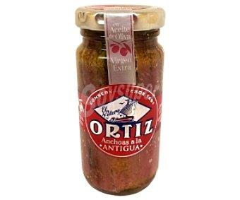 Conservas Ortiz Filete de anchoas en aceite de oliva 55 Gramos