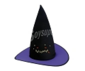 My other me Complemento para disfraz Halloween, Sombrero de bruja de colores 1 unidad