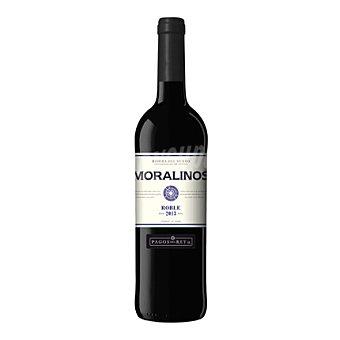 Moralinos Vino D.O. Ribera del Duero tinto roble Botella de 75 cl