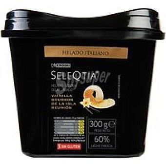 Eroski Seleqtia Helado de vainilla al bourbon Tarrina 500 ml