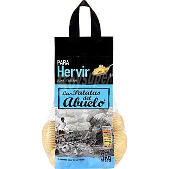 LAS PATATAS DEL ABUELO Patatas para hervir Bolsa 3 kg