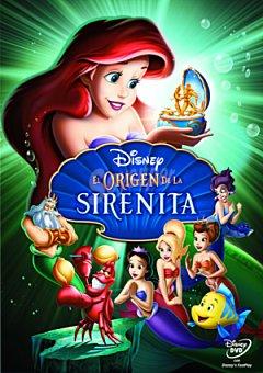 Disney El Origen de la Sirenita DVD 1 ud