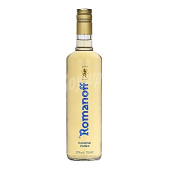 Romanoff Vodka caramelo 70 cl