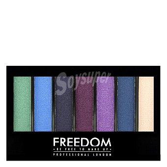 Freedom Paleta 7 sombras de ojos Pro shade&brighten Play 1 ud