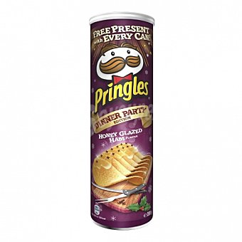 Pringles Aperitivo de patata sabor jamon glazed 200 G 200 g