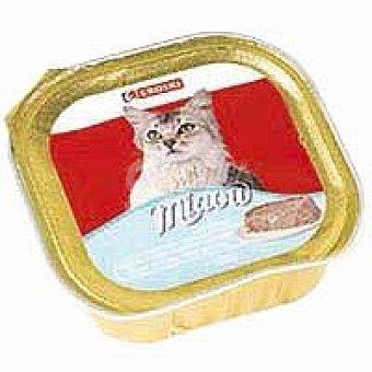 Eroski Delicias de trucha Miaow Tarrina 100 g