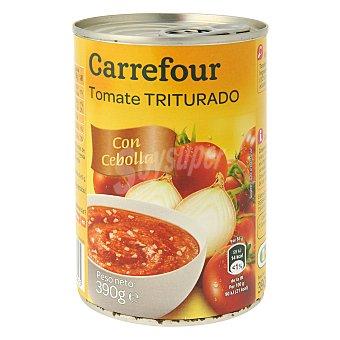 Carrefour Tomate triturado con cebolla 390 g