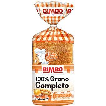Bimbo pan de molde sándwich 100% grano completo Bolsa 450 g