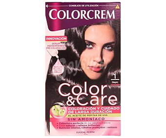 Colorcrem Tinte capilar color negro nº001 color&care