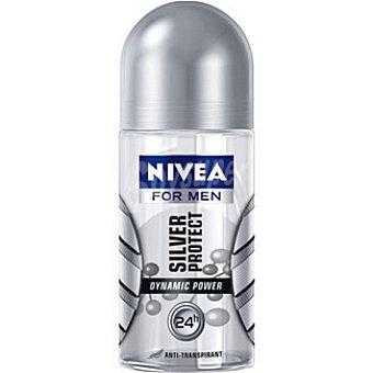 Nivea For Men Desodorante Roll-On Silver Protect Hombre For Men 50ml