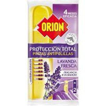 Orion Antipolilla pinza protect lavanda Pack 2 uds