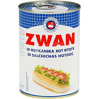 ZWAN Salchichas hot dog Lata 200 g neto escurrido