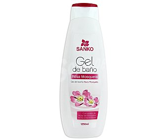SANKO Gel de baño Rosa Mosqueta 1250 ml